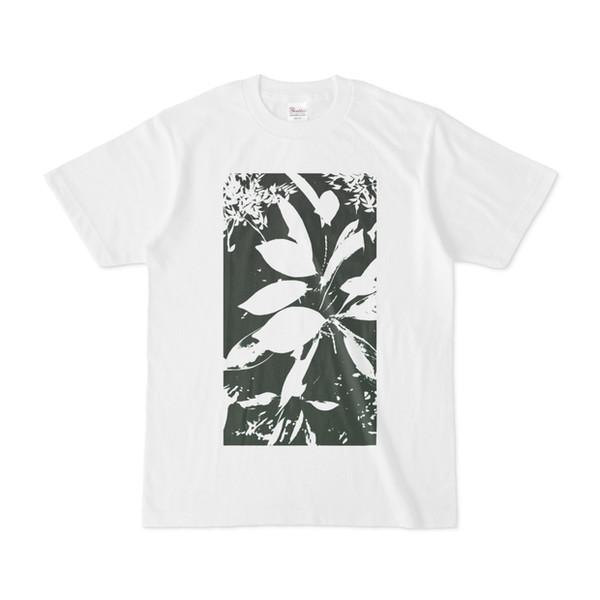 Tシャツ ホワイト Origin_Leaf