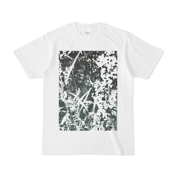シンプルデザインTシャツ Leaf 2