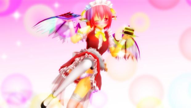 【第11回東方ニコ童祭】メイド服みすちー!