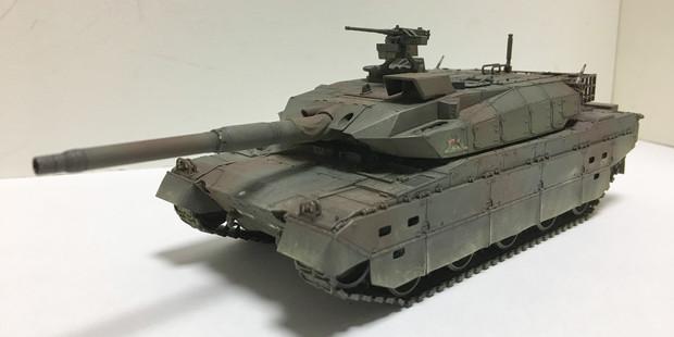 10式戦車(立体物)