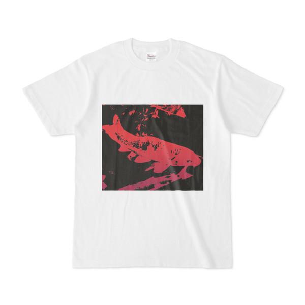 シンプルデザインTシャツ 鯉