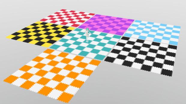 ブロック絨毯