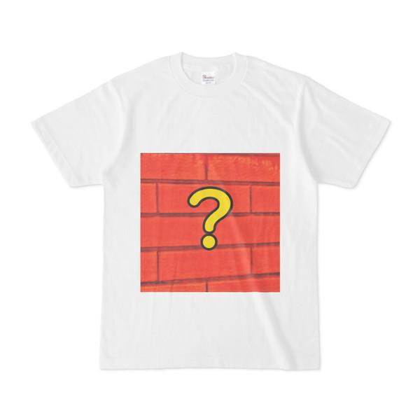シンプルデザインTシャツ ?レンガ
