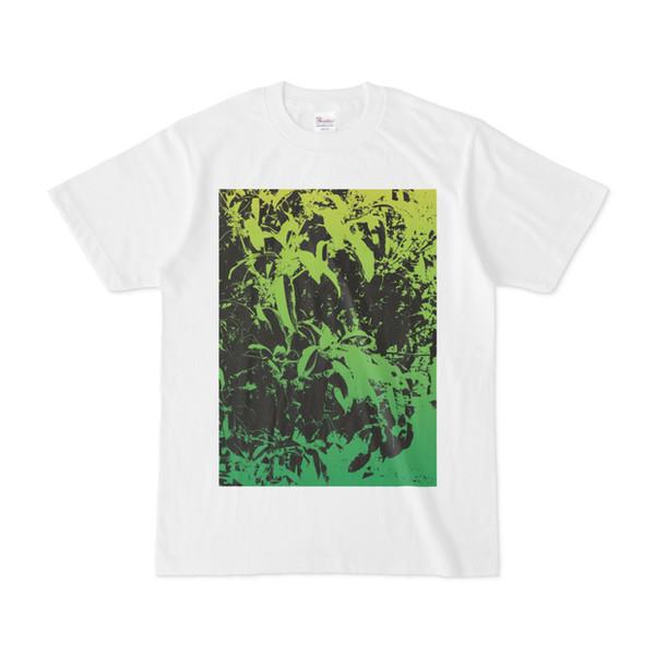 シンプルデザインTシャツ LeafGY1