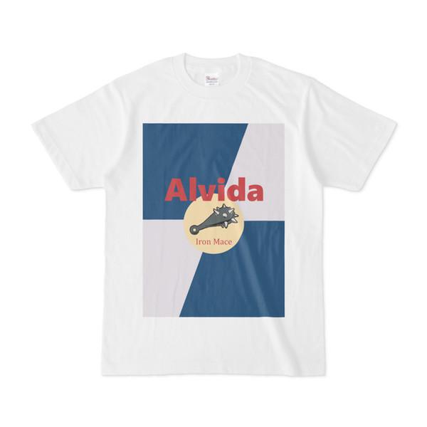 シンプルデザインTシャツ Alvida レッドブル風