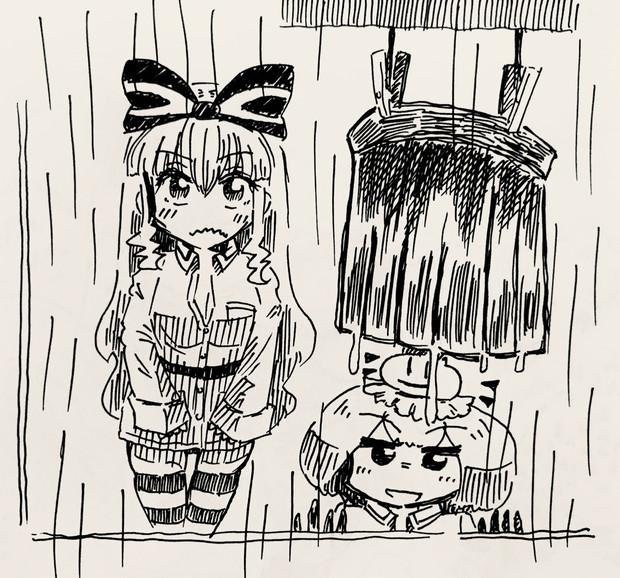 アリス「乾かない…」