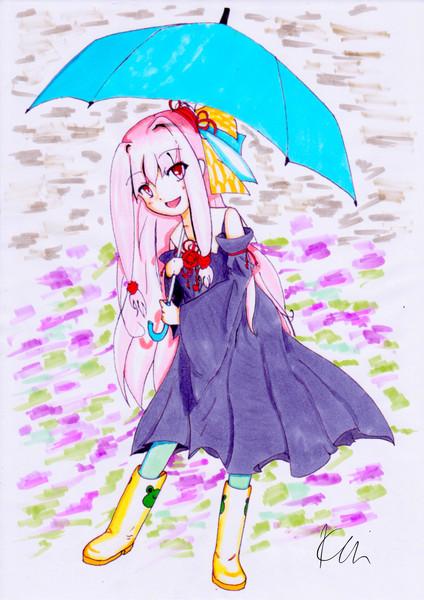 梅雨と茜ちゃん