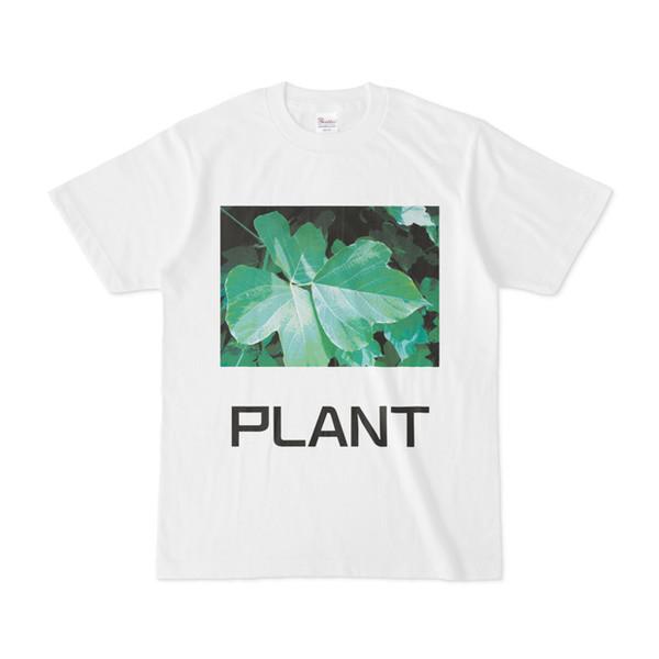 シンプルデザインTシャツ PLANT