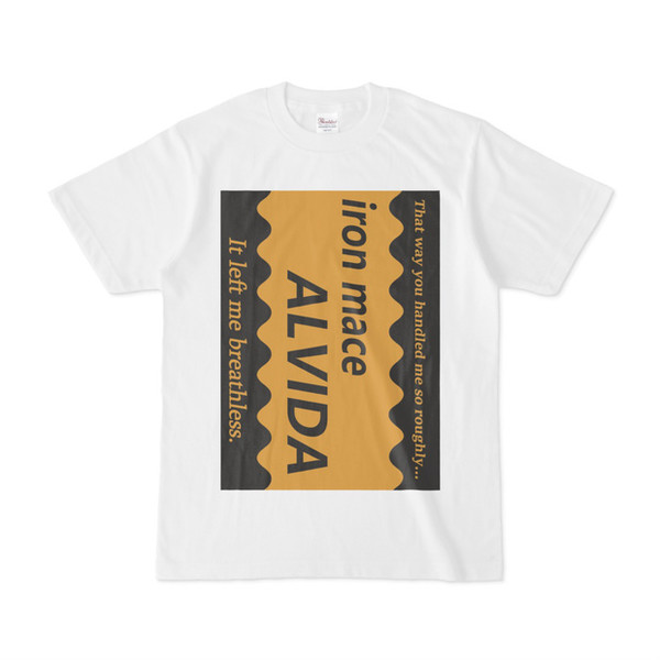 シンプルデザインTシャツ Alvida マックスコーヒー風