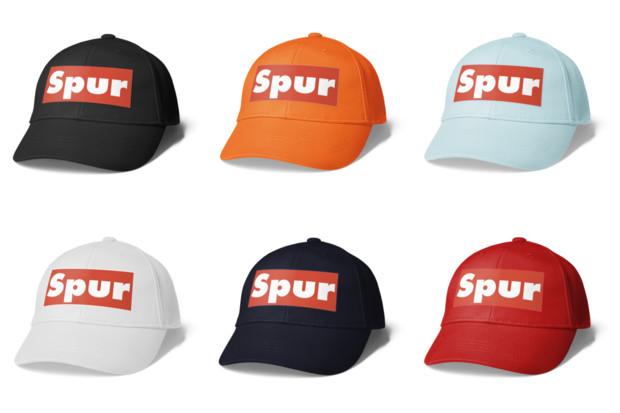 シンプルデザインキャップ ロゴ Spur