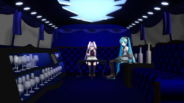 ベルベットルーム【MMDステージ配布あり】