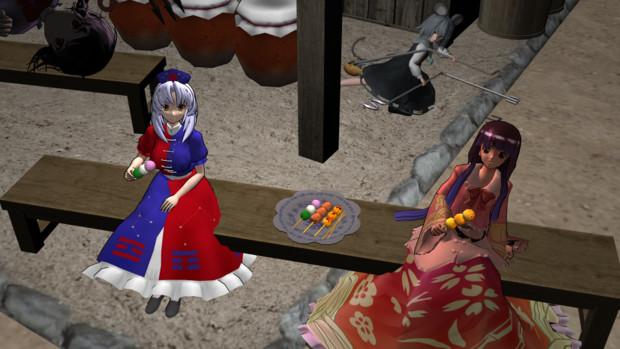 【第11回東方ニコ童祭】星見団子