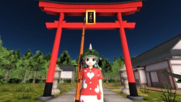 博麗神社の見張り番