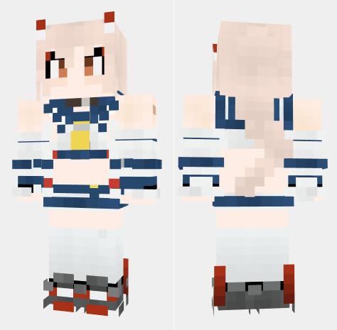 綾波 アズールレーン Minecraft Skin
