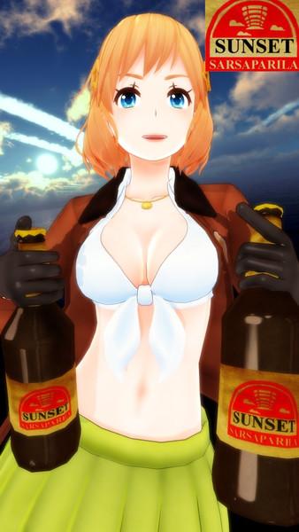 HEROちゃんのサンセット・サルサパリラ広告2!【APヘタリアMMD】