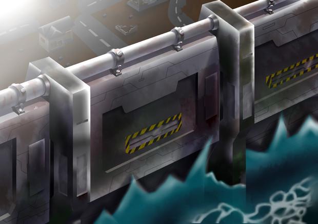 未来式防波堤