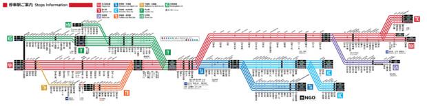 【JR西日本風】名鉄線路線図(特別停車あり)