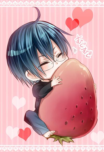 イチゴ物がお好きだそうで