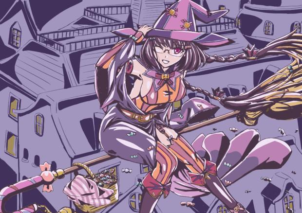 ハロウィン刑部姫