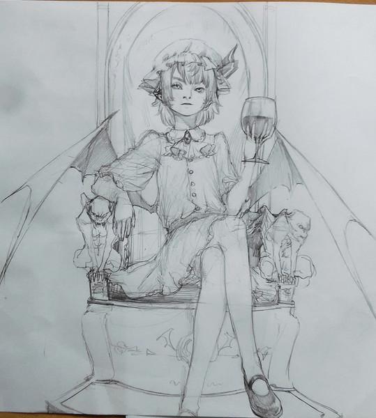 ワインというなのぶどうジュースを飲んでる夜の王