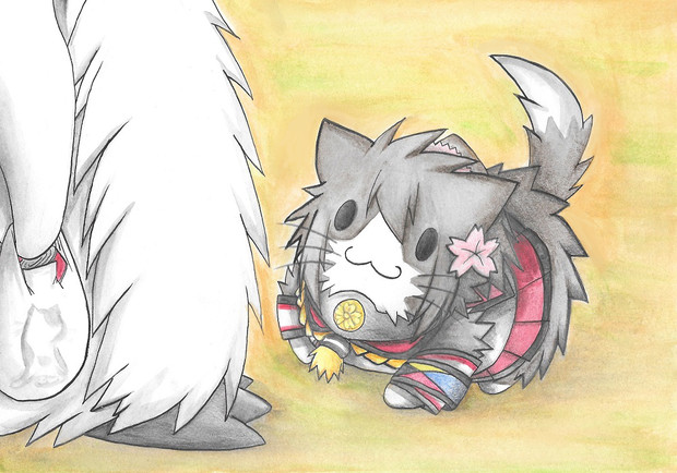グー提督と大和仔猫