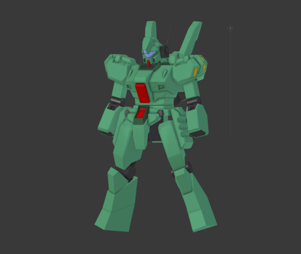 RGM-89D【MMD向け・制作中】