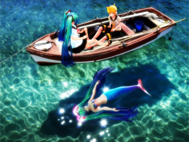 浮舟と人魚