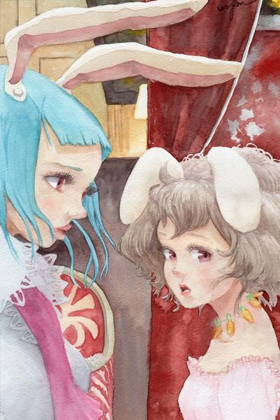 毎月17日と18日はイナバの日「てゐ姫と鈴仙男爵」