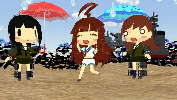 球磨型の梅雨
