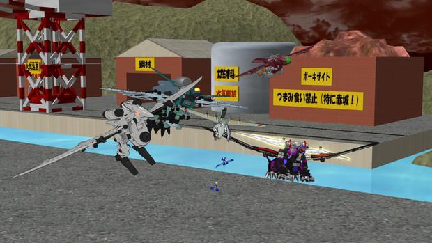 航空部隊第一陣、出撃!