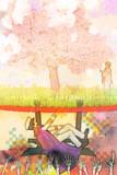 桜の木の下には