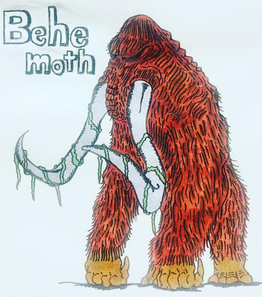 類人猿マンモス怪獣ベヒモス