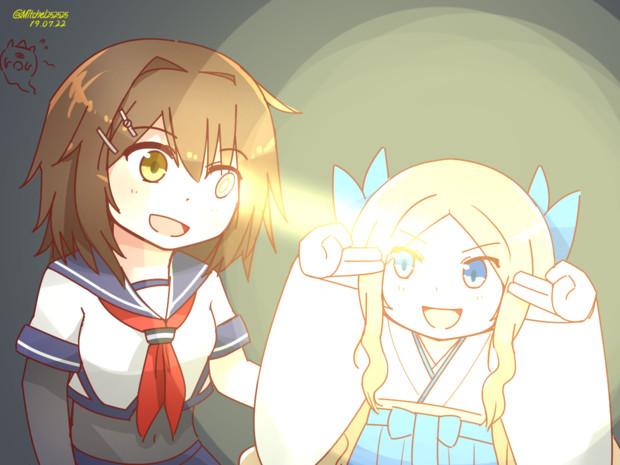 光源と反射板