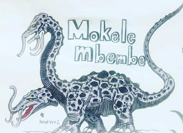 岩鎧怪獣モケーレ・ムベンベ