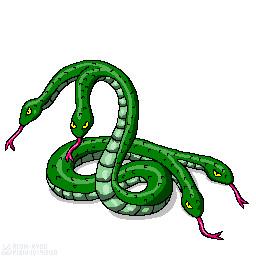 双双頭の蛇 まがいもの さんのイラスト ニコニコ静画 イラスト