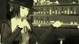 シンガー織くんの白黒写真with『尖った手口』【MMDモノクロポートレート】