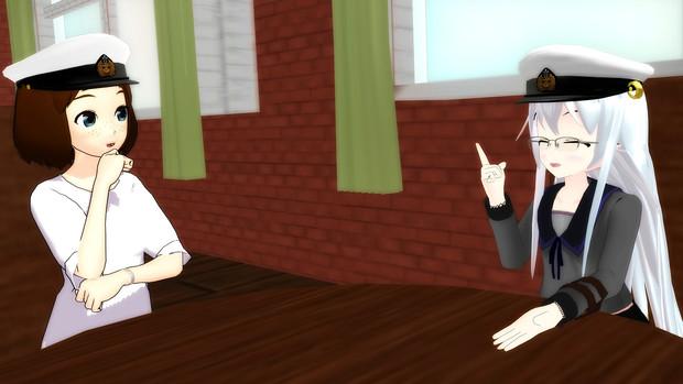 【ゲームセンター泊地来訪記】提督達の一幕