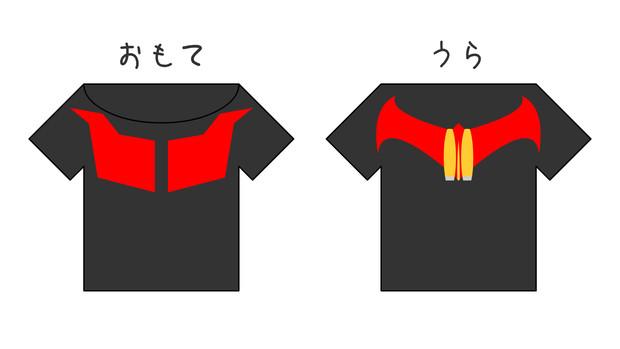 第3回没ネタ供養祭用、ヘカ様Tシャツ案