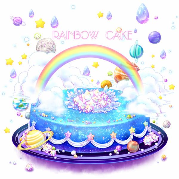 Rainbow cake(ホール)