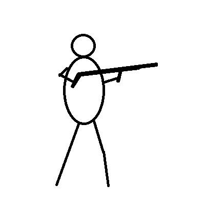 おっさんと銃