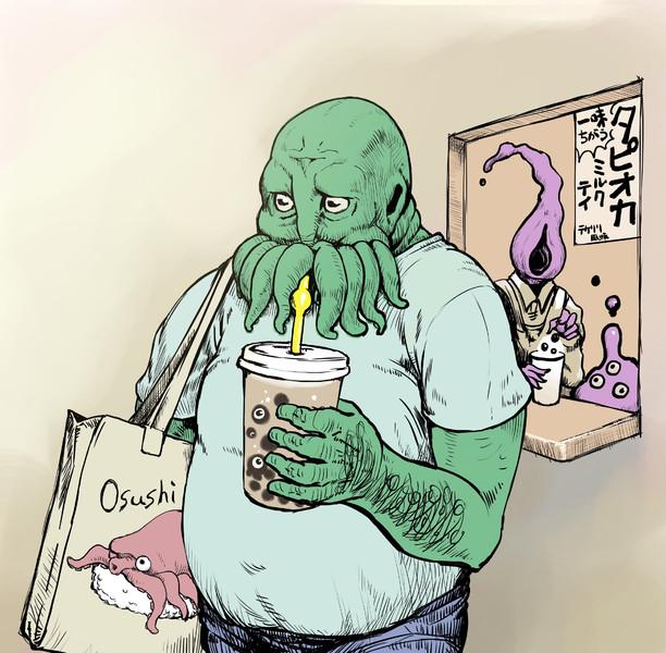 流行りの飲み物を飲んでみたクトゥルフ