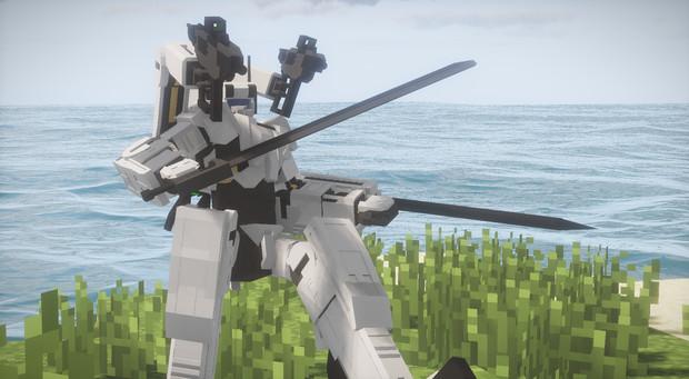 [Minecraft/JointBlock]JB製人型ロボ「PWS-001」〈配布〉
