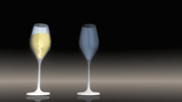 割れるワイングラス【MMDアクセサリ配布】