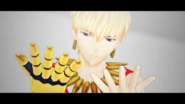 【Fate/MMD】ギルガメッシュVer0.2 クレジット登録用