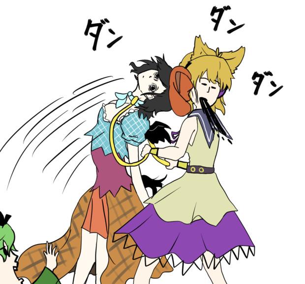 神子と驪駒