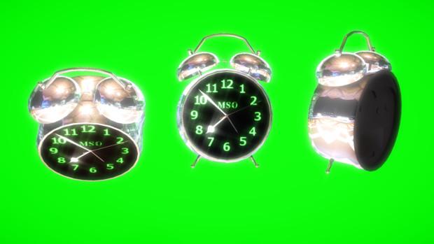 【MMDアクセサリ配布】目覚まし時計