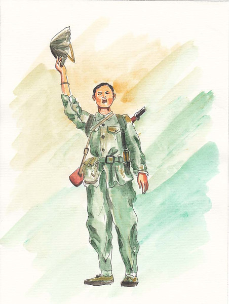 ベトナム人民軍兵士出征 / noraneko9999 さんのイラスト - ニコニコ静 ...