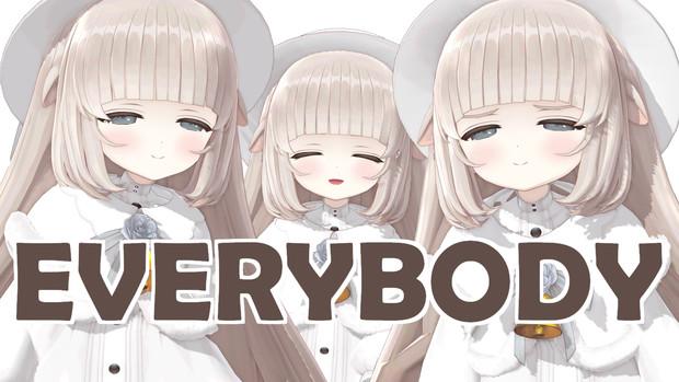 【.LIVE】メリーミルクちゃんが可愛すぎるEVERYBODY【MMD】
