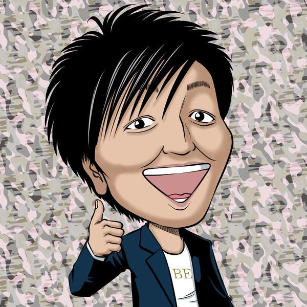 え?スリムクラブも謹慎解除なの?スリムクラブ真栄田氏の似顔絵描いてみた。