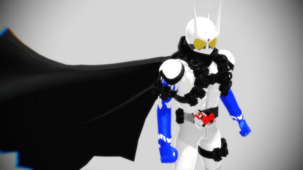 【MMD】仮面ライダーエターナル【改変モデル配布】